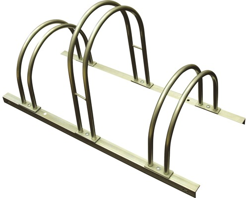 Fahrradständer f. 3 Räder, erweiterbar, L 84 x T 37 x H 45 cm, feuerverzinkt