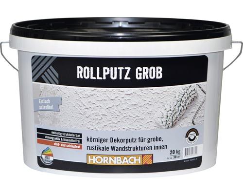 Rollputz grob weiß 20 kg