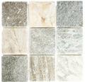 Natursteinmosaik XQM 100L 30,5x30,5 cm beige/grau