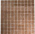 Glasmosaik XCM SM 449 31,8x31,8 cm braun