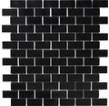 Kunstharzmosaik XCM ASMB2 32,5x30 cm schwarz