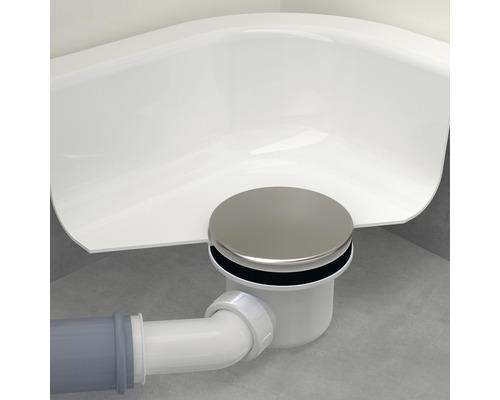 Duschablauf 90mm verchromt