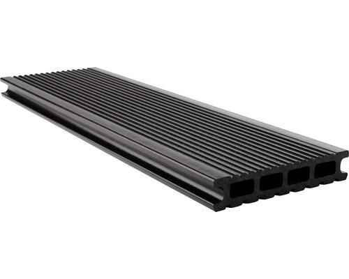 Konsta WPC Terrassendiele Futura schokobraun glatt 26x145x4000 mm