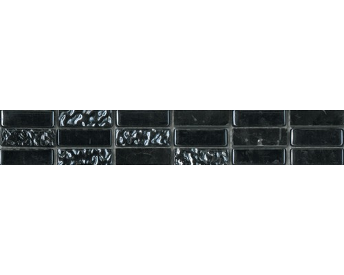 Bordüre Carrara grau 30x4,8 cm