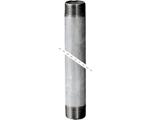 "Rohrdoppelnippel 1""x60cm verzinkt"