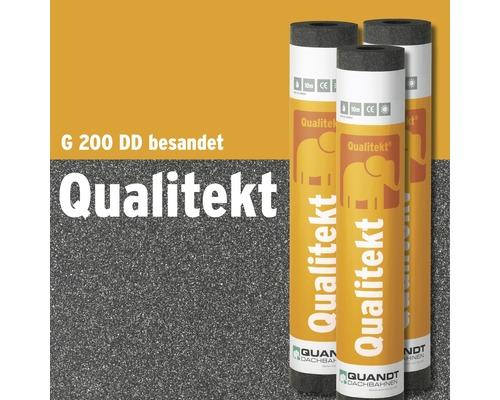 Bitumen Dachpappe Qualitekt Besandet G200 DD-8 Rolle 10m Breite 100 cm