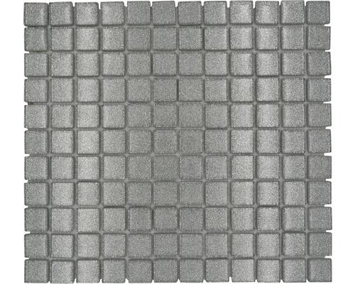 Glasmosaik XCM 8SB8 30,2x32,7 cm silber