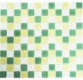 Glasmosaik CM 4488 mix gelb/grün/weiß 30,2x32,7 cm