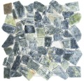 Bruchmosaik CIOT 407 31,5x31,5 cm grün/grau