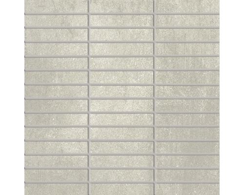 Feinsteinzeugmosaik Urban grau 30x30 cm