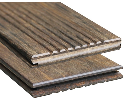 Konsta Bambus Terrassendiele mit Nut 18x137x1850 mm