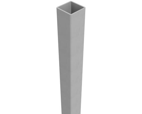 Pfosten Belfort 6 x 6 x 100 cm, EV 1, aluminium-grau