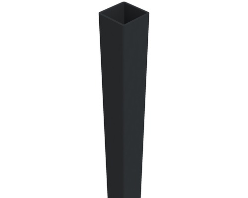 Pfosten Belfort 6 x 6 x 100 cm, aluminium-grau