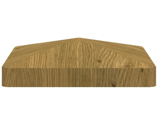 Pfostenkappe BasicLine 8,7 x 8,7 cm, asteiche