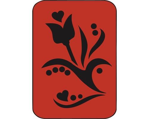 Dekorschablone Tulpe