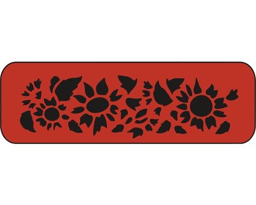 Dekorschablone Sonnenblume