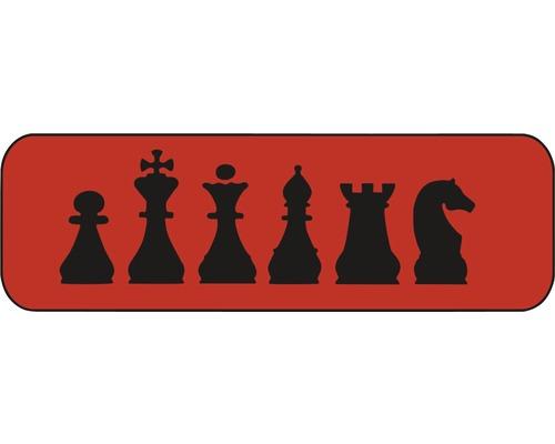 Dekorschablone Schach 44 x 14 cm