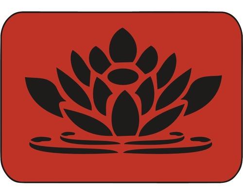 Dekorschablone Seerose