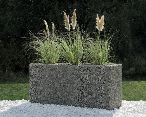 Hochbeet belissa Gabione 182x55/202x75 cm, Höhe 100 cm