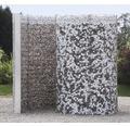 Schneckendusche, Umkleidekabine belissa Gabione 230x180x210 cm