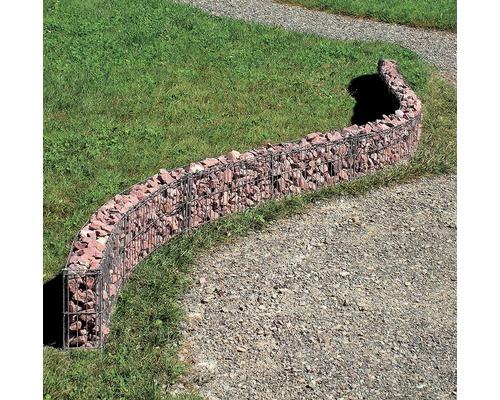 Mauergitter belissa für geschwungene Mauern 464x20 cm