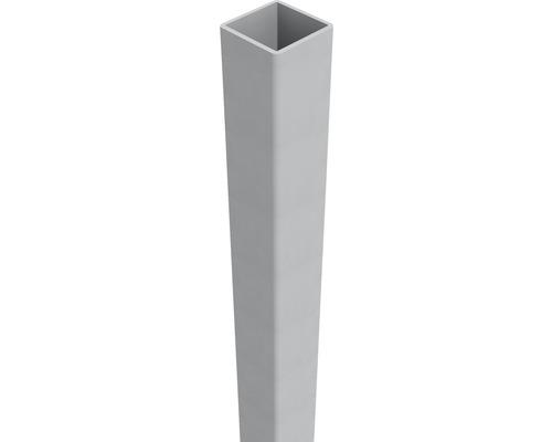 Pfosten Belfort 6 x 6 x 190 cm, EV 1, aluminium-grau