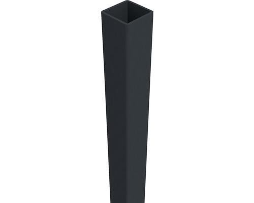 Pfosten Belfort 6 x 6 x 190 cm, aluminium-grau