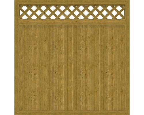 Hauptelement BasicLine Typ C 180 x 180 cm, asteiche