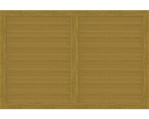 Hauptelement BasicLine Typ V 180 x 120 cm, asteiche