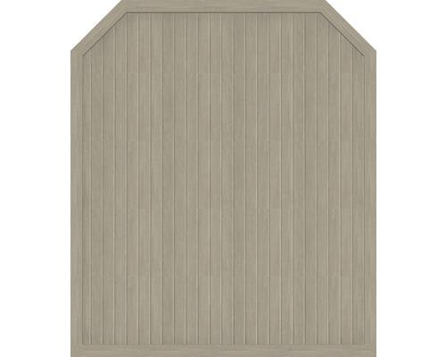 Hauptelement BasicLine Typ J 180 x 210/180 cm, sheffield oak