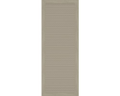 Teilelement BasicLine Typ T 70 x 180 cm, sheffield oak