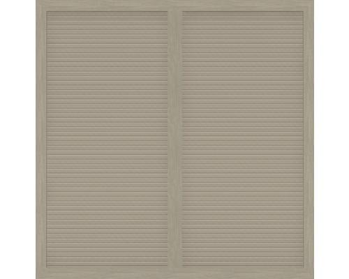 Hauptelement BasicLine Typ S 180 x 180 cm, sheffield oak