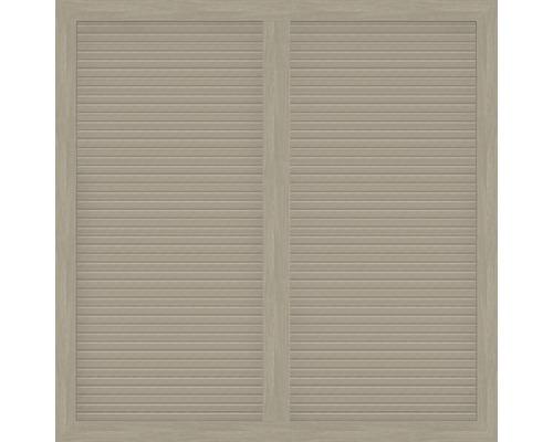 Hauptelement BasicLine Typ U 150 x 150 cm, sheffield oak