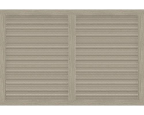 Hauptelement BasicLine Typ V 180 x 120 cm, sheffield oak