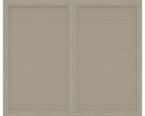 Hauptelement BasicLine Typ U 180 x 150 cm, sheffield oak
