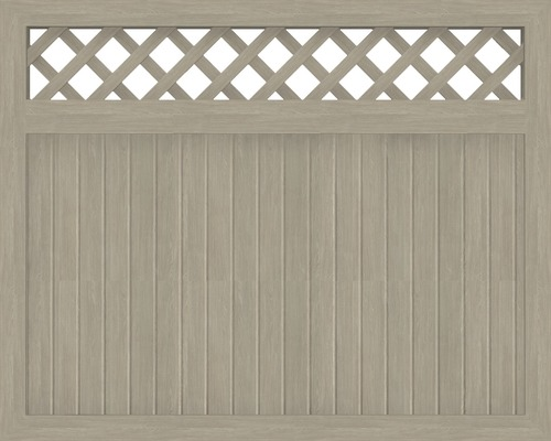 Hauptelement BasicLine Typ N 150 x 120 cm, sheffield oak