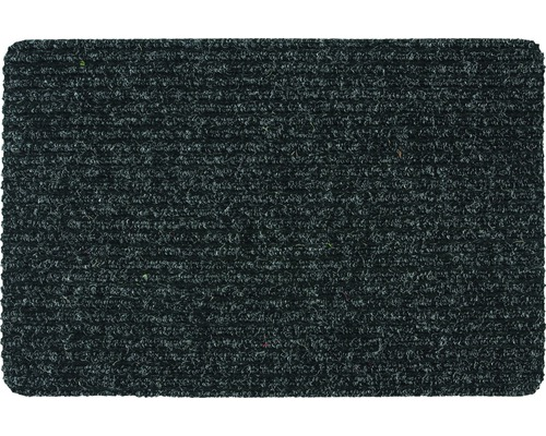 Ripsmatte anthrazit 40x60 cm