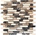 Natursteinmosaik braun beige 30x30 cm