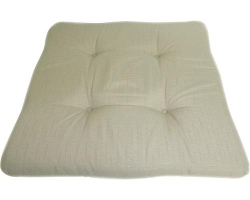 Stuhlkissen Baumwolle-Polyester 41x41cm beige