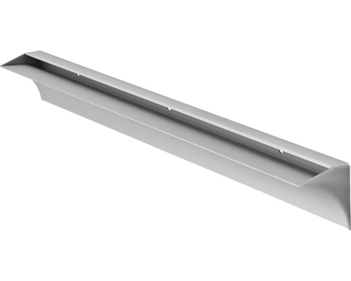 Regal Klemmschiene Rail 600 x 8 mm, silber