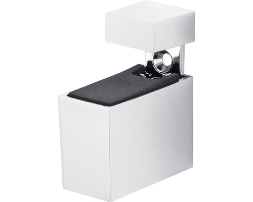 MetallClip Cuadro verstellbar 6 - 20 mm, chrom, 2 Stück