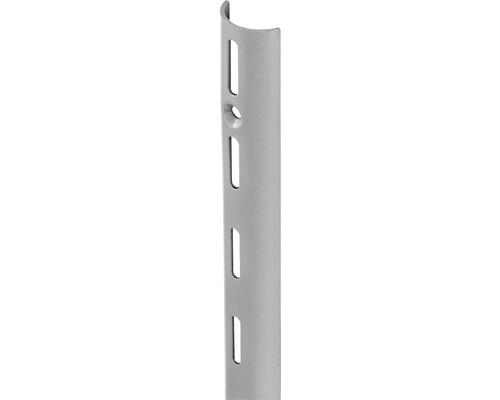 Wandschiene HalfPipe H 495 mm silber