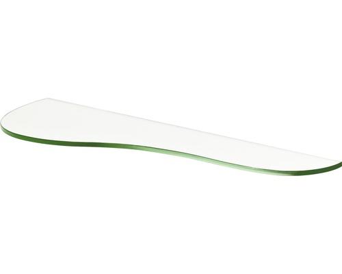Glas-Regalboden Pear B 600 x T 180 x H 8 mm, klar