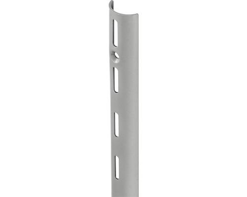 Wandschiene HalfPipe H 1495 mm silber