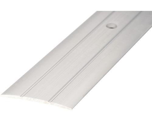 Übergangsprofil Alu gelocht silber 2700x38 mm