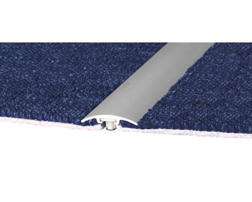 Teppichprofil D.O.S Alu silber 2700x33 mm