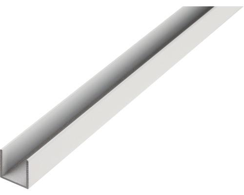 U-Profil Aluminium 25x25x2 mm 2 m
