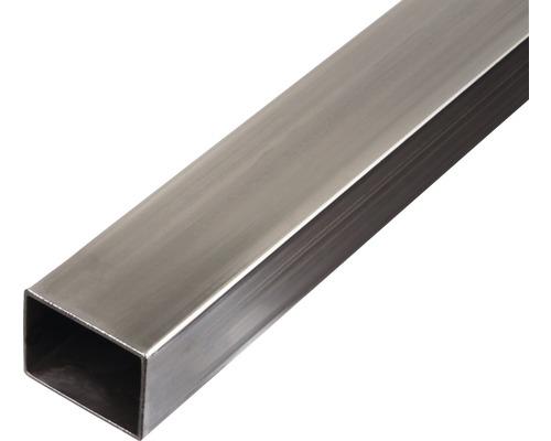 Rechteckrohr Stahl 40x30x1,5 mm, 2 m