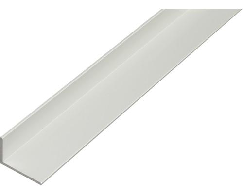 Winkelprofil Aluminium silber 40x20x2 mm, 1 m