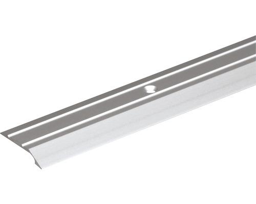 Abschlussprofil Aluminium silber 30x6,5x2 mm, 2 m